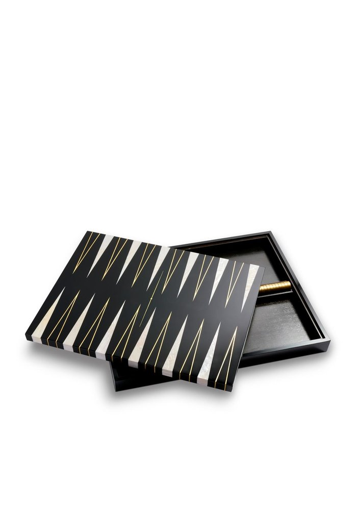 Backgammon speel set  - Life is a game