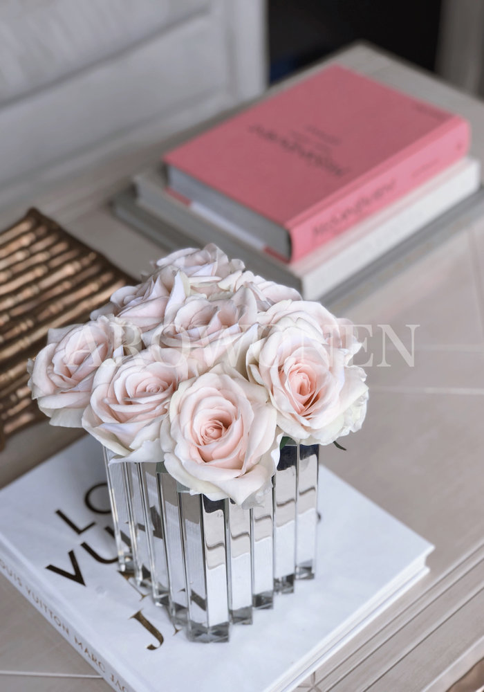 Kunst Roos - Lucy  Soft pink