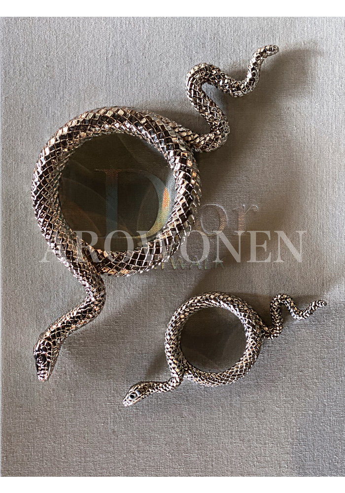 Snake away Silver -  Magnifying Glass - L