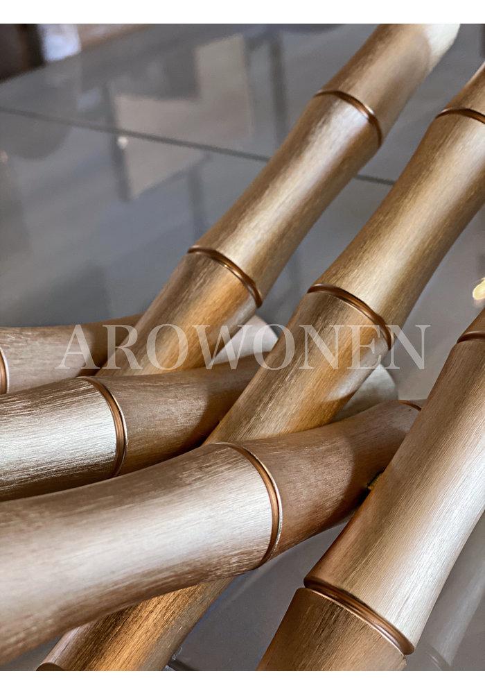 Boekenstandaard - The bamboo look