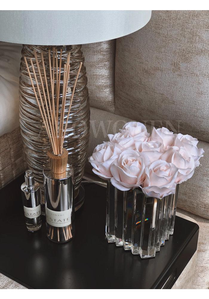 Artificial rose - Soft pink