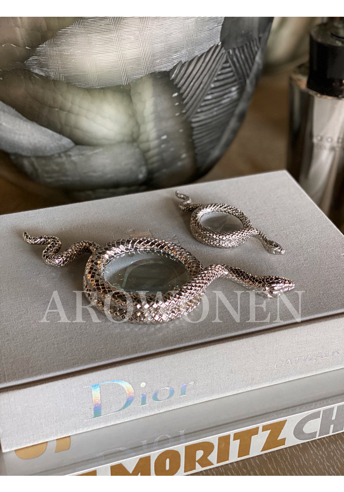 Snake away Silver -  Magnifying Glass - M