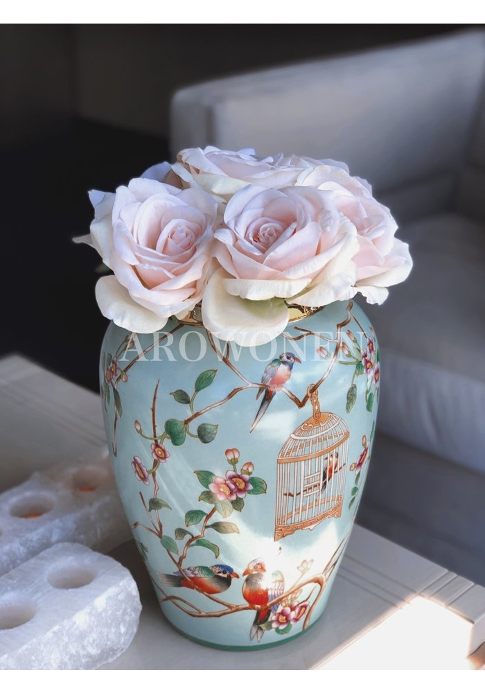 Artificial Rose -  Cleo Soft Pink