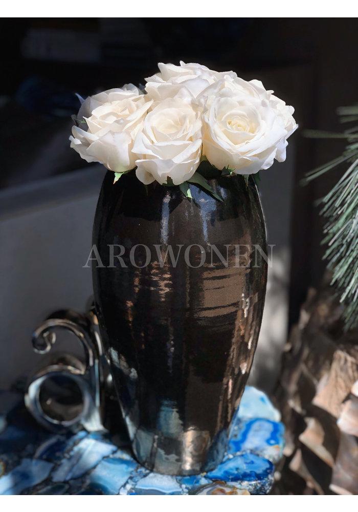 Artificial Rose White - Juliet