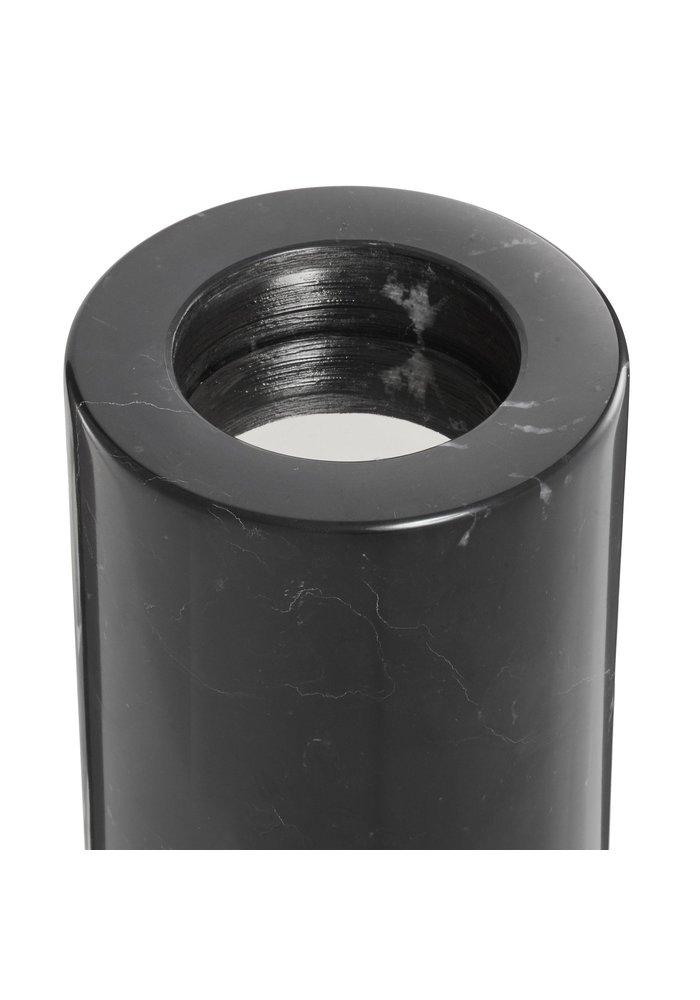 Tealight Holder - Black Marble - M