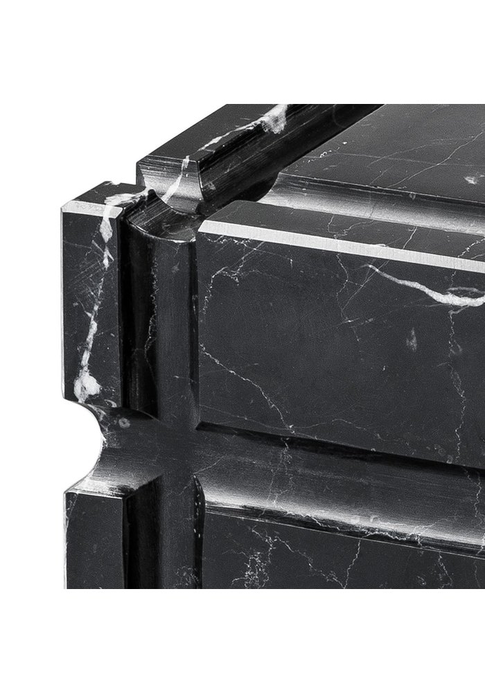 Ashtray - Black Marble