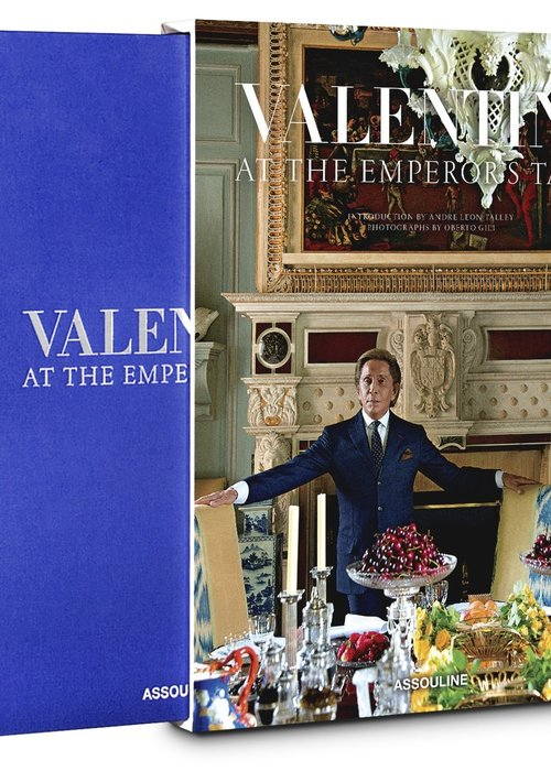 Livre - Valentino: At the Emperor's Table