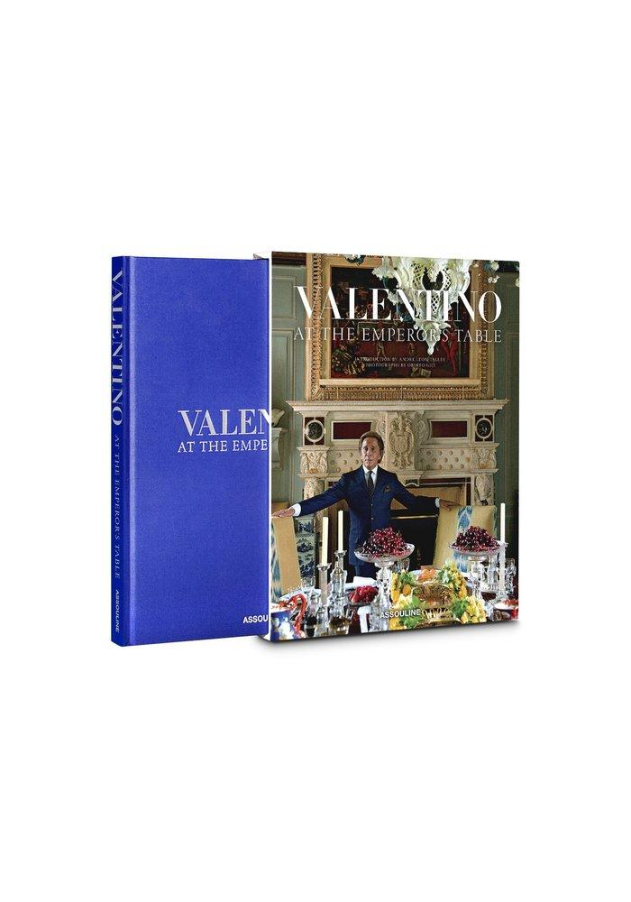Boek - Valentino: At the Emperor's Table
