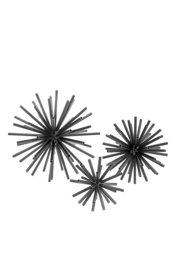 Spikes Set van 3 - Smokey