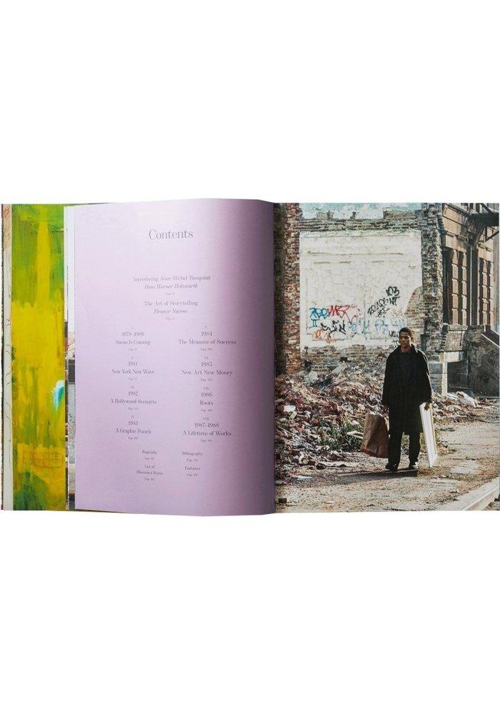 Boek - Jean-Michel Basquiat - Hans Werner Holzwarth