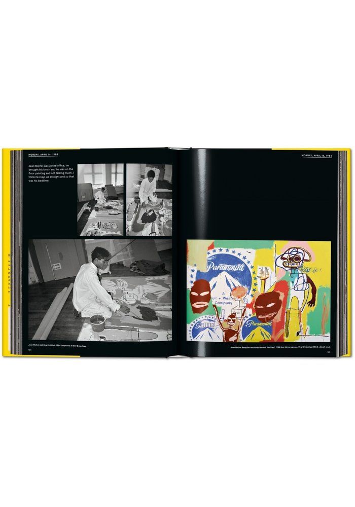 Book - Warhol on Basquiat
