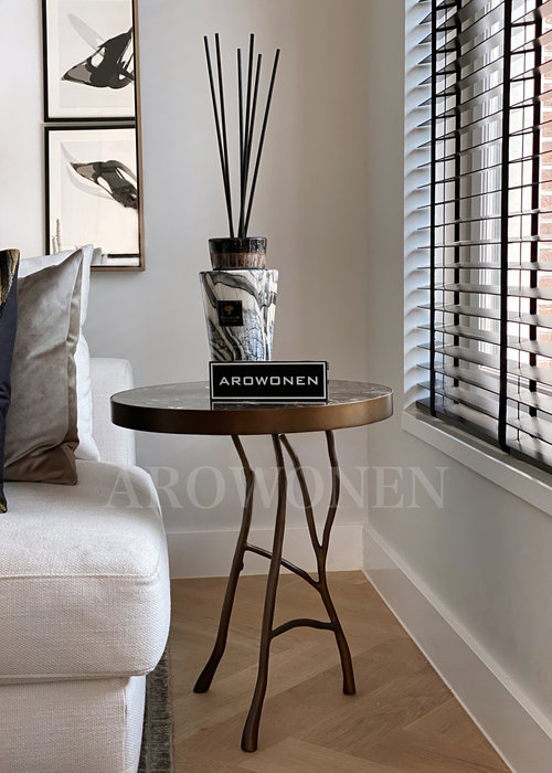 Side Table - Mallory brown