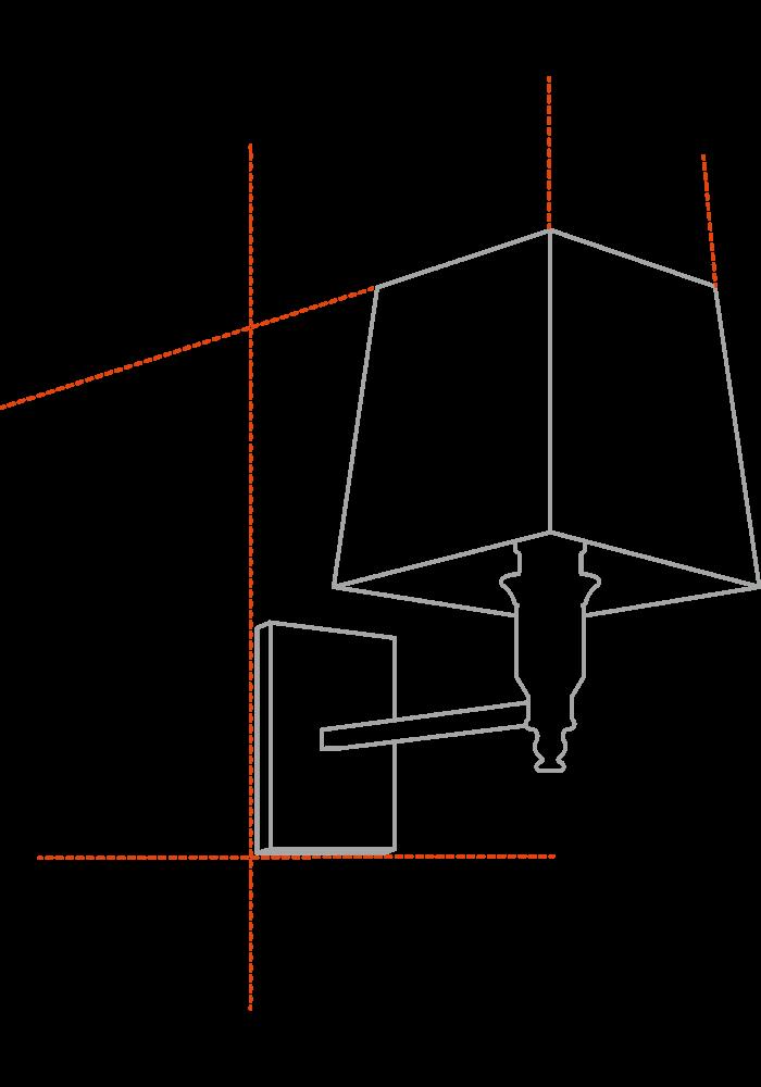 Wandlamp - Braelyn