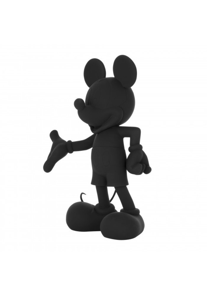 Mickey Mouse - Mat zwart
