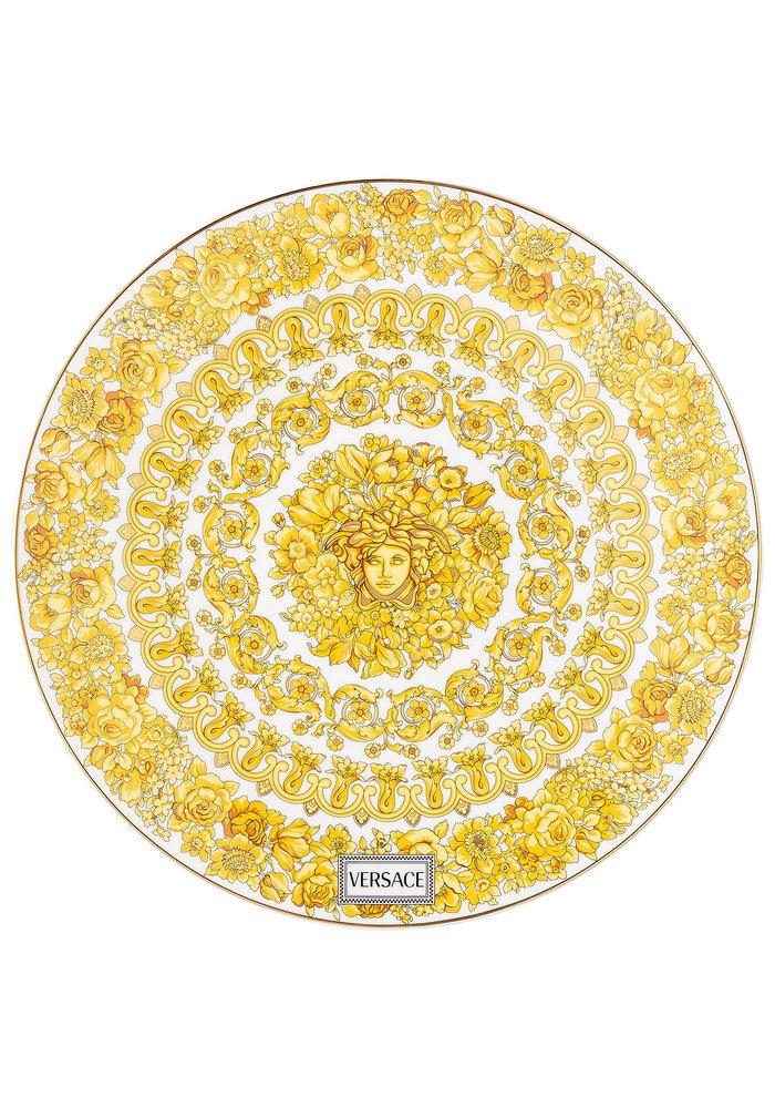 Versace Medusa Rhapsody Plate 33 cm