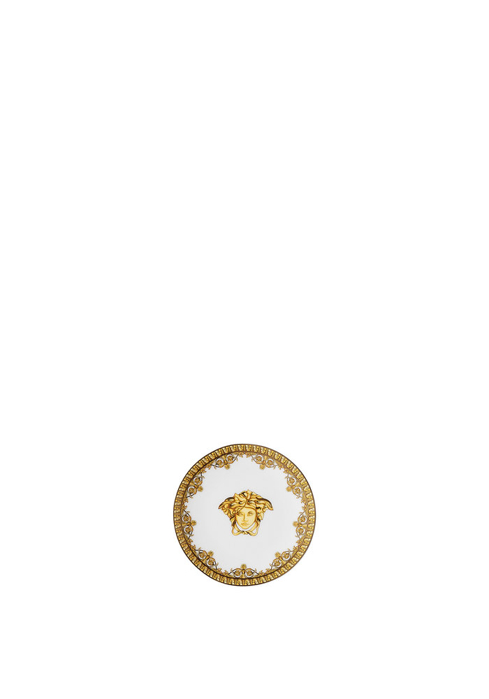 Versace - I ❤ Baroque Bianco-  Plate 10 cm