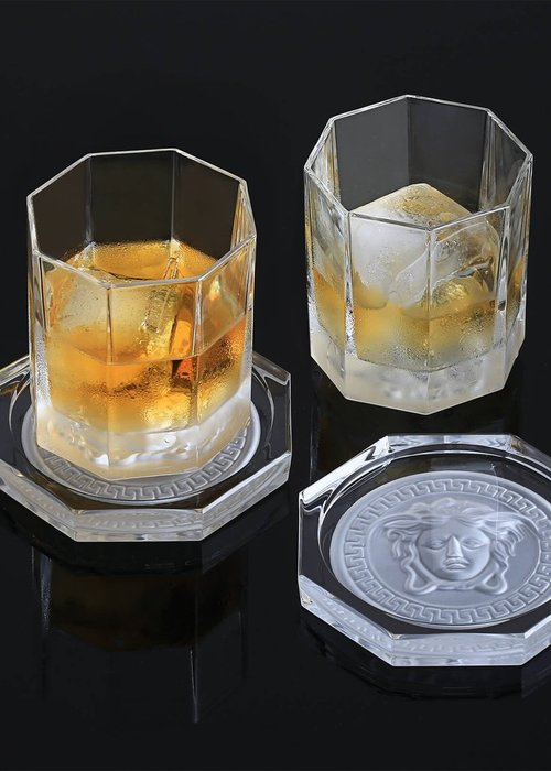 Versace Medusa Lumiere Haze - Sous-verre