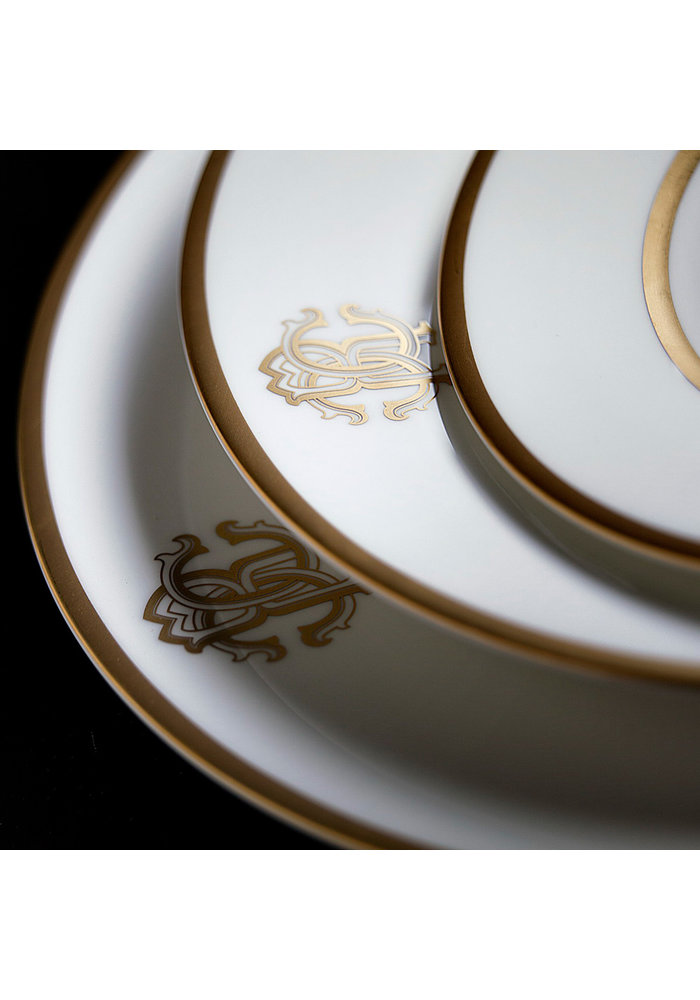 Roberto Cavalli - Silk Gold - Soup Bowl - 14,5 cm