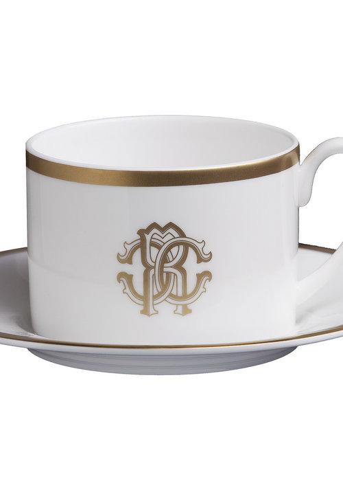 Roberto Cavalli  Silk Gold - Theekop