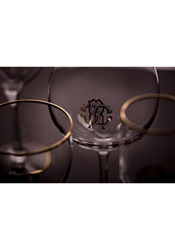 Roberto Cavalli - Monogram Gold -  Wijnglas