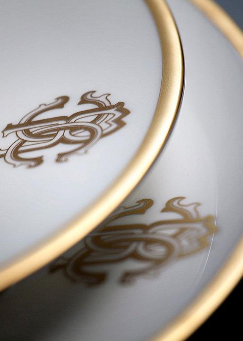 Roberto Cavalli  Silk Gold - Plate 32 cm