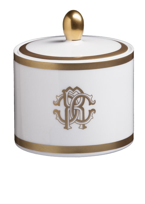 Roberto Cavalli  Silk Gold -  Sugar Pot