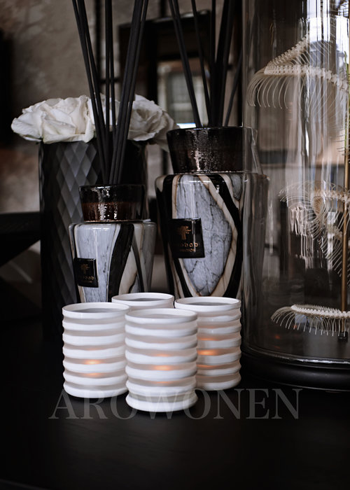 Tealight Holder - White Bueno