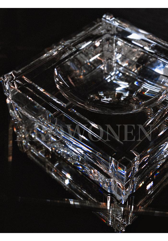 Crystal Ashtray - Square