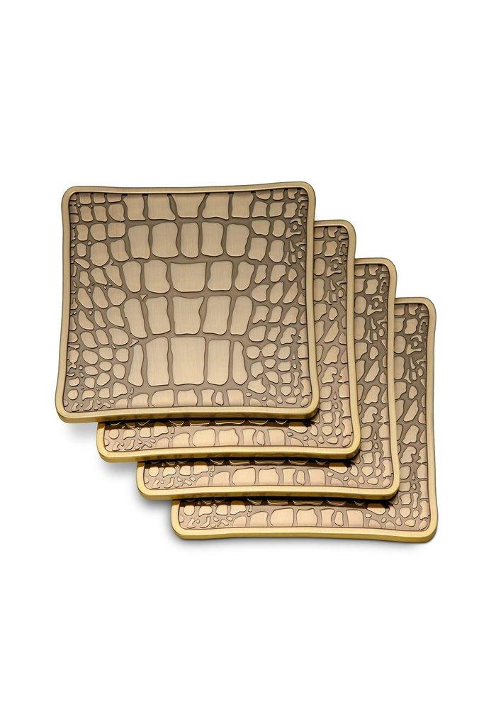 Later alligator - Coasters Set of 4