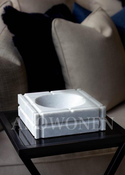 Ashtray - White Marble