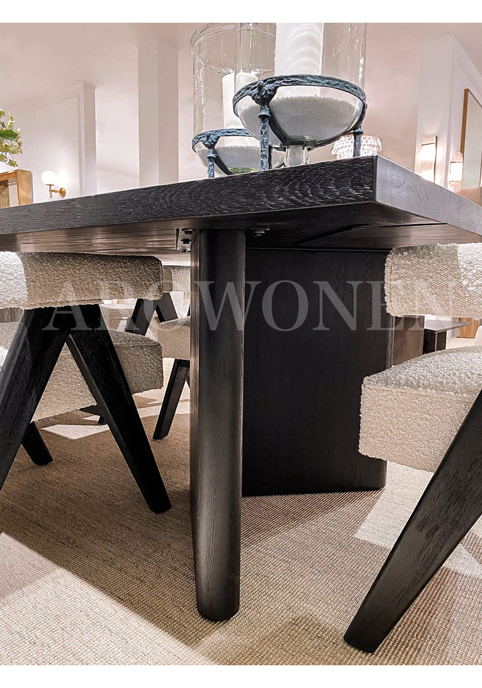 Dining table - Bernice Dark