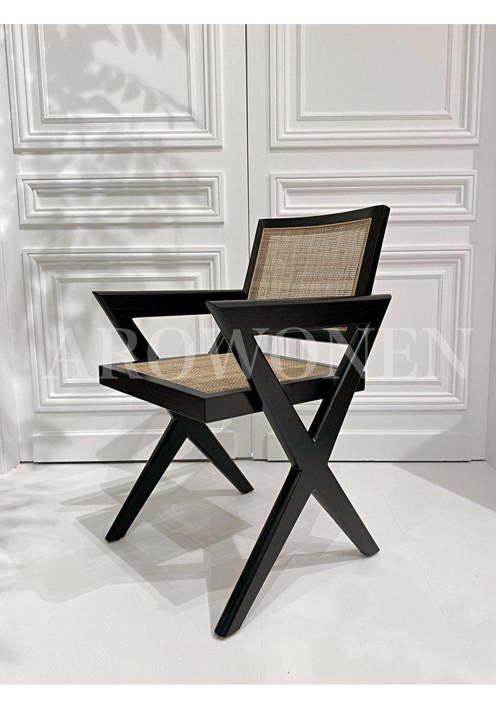 MINIMALISM COLLECTION - Dining chair  -Vivian - Black