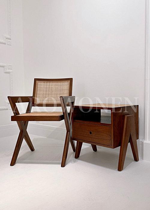 Dining chair  - Vivian - Brown