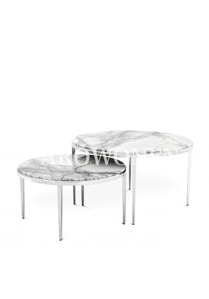 Table basse - Calvin set de 2