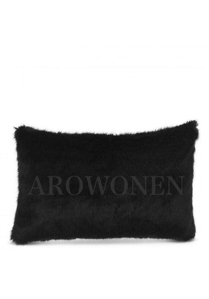 Decorative cushion  - Fluffles midnight