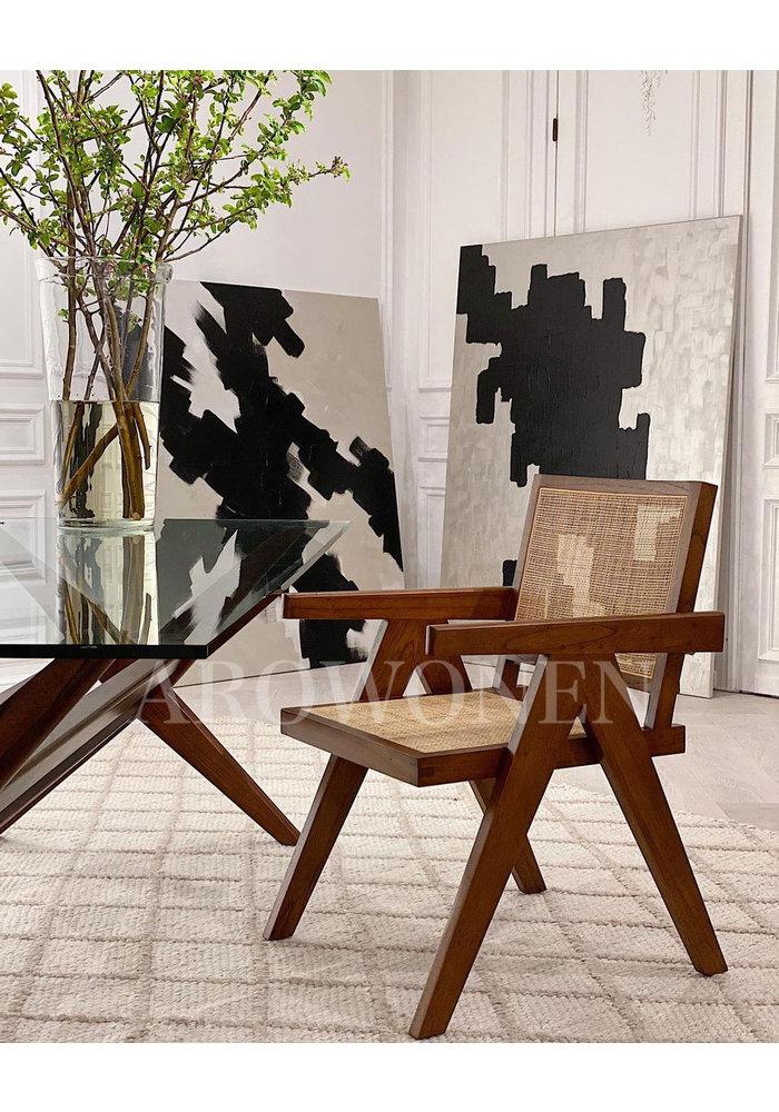 PRE ORDER - Dining chair  - Victoria Brown - MINIMALISM