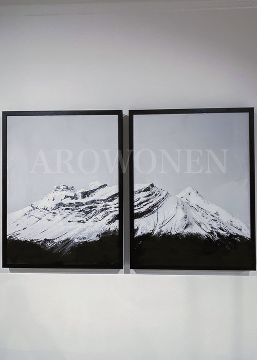 Frame - Prints / King Peak art - set of 2