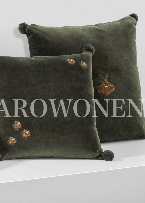 Decorative cushion  - olive Beesy