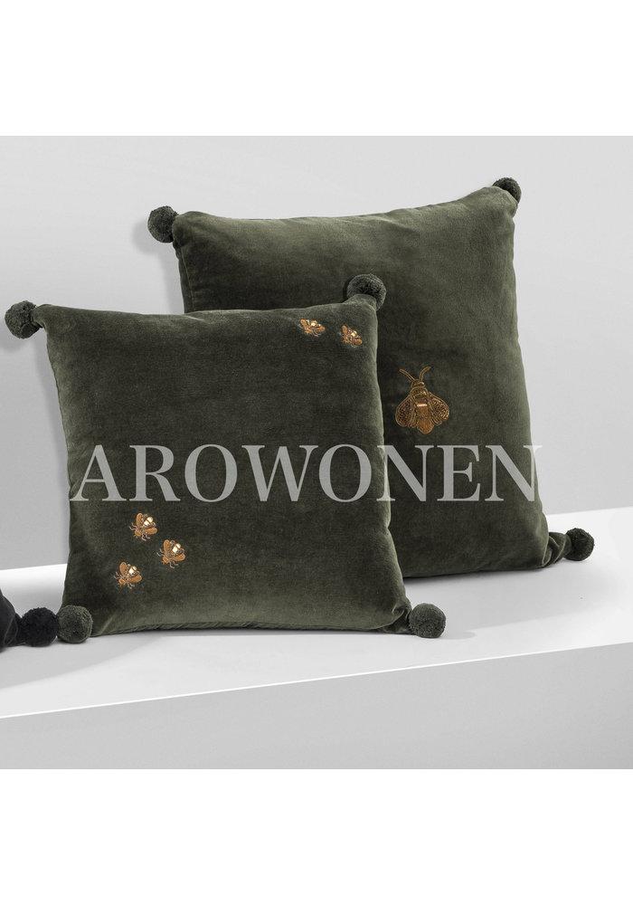 Decorative cushion - olive Beesy