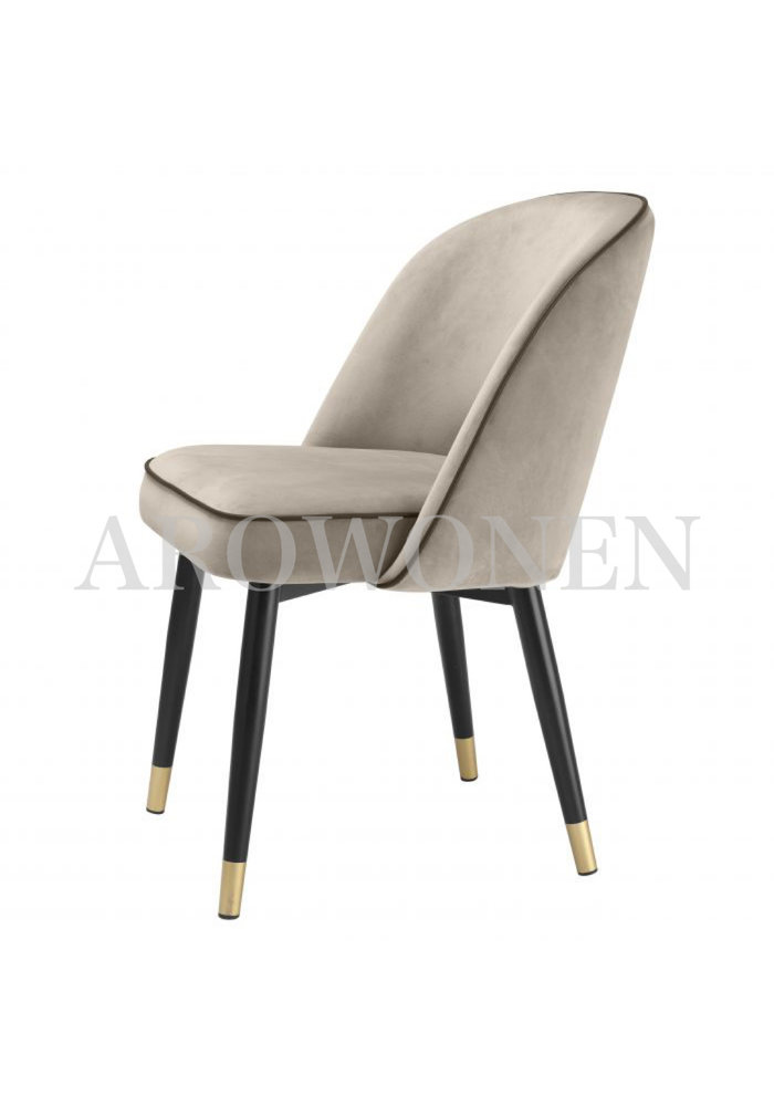PRE ORDER - Dining chair - Milan  antraciet