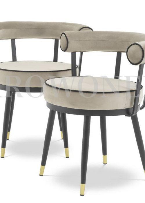 Chaise de salle à manger - Revello taupe