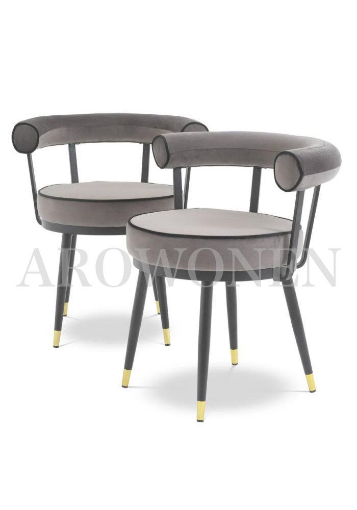 Chaise de salle à manger - Revello dark taupe