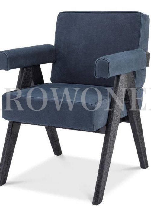 Chaise de salle à manger - Thaddeus navy