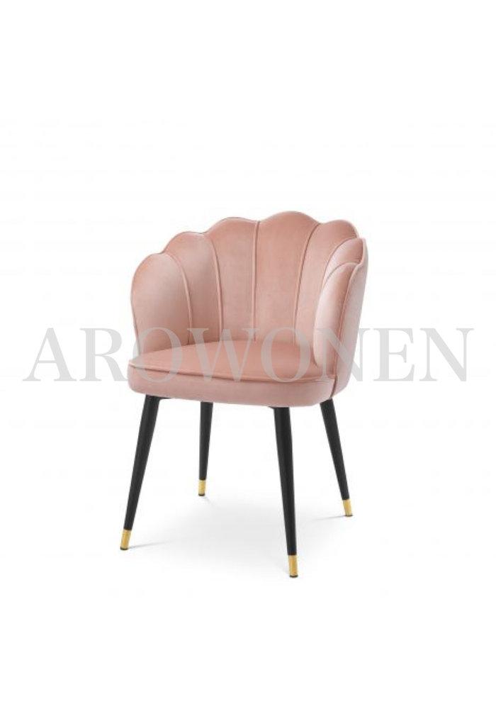 Chaise de salle à manger - Shell rouge