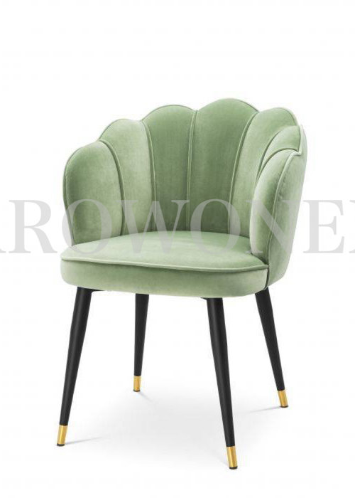 Dining chair - Shell verde