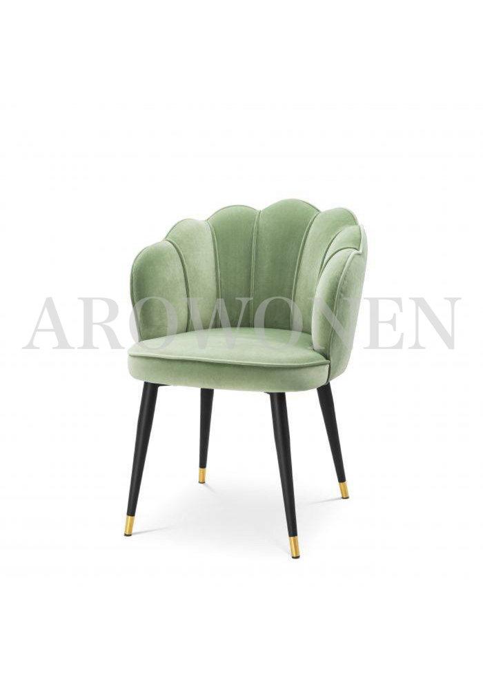 Chaise de salle à manger - Shell verde