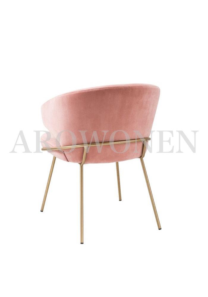 PRE ORDER - Chaise de salle à manger -  Camila flamingo