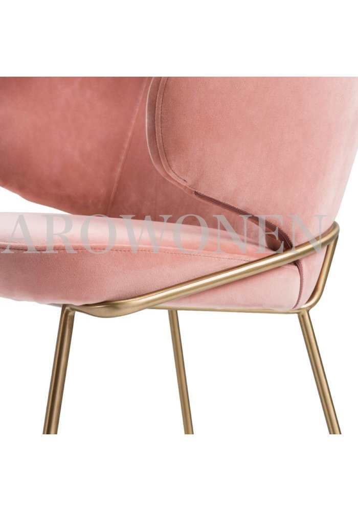 PRE ORDER - Dining chair - Camila flamingo