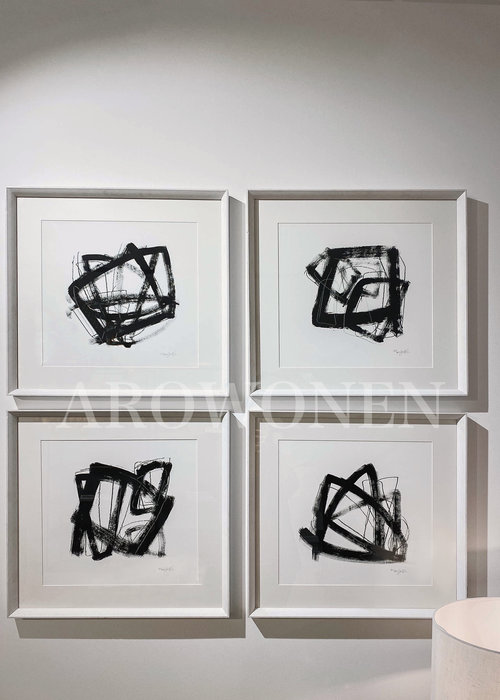 Frame - Prints /  Paradox  - set of 4
