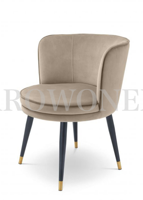 Dining chair - Ava  tan